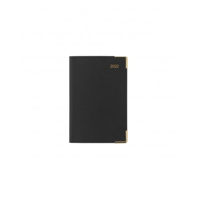 Classic Mini Pocket Day to Page Diary 2022 Black